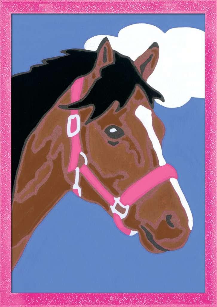Pferd Malen Nach Zahlen Malen Und Basteln Produkte Pferd