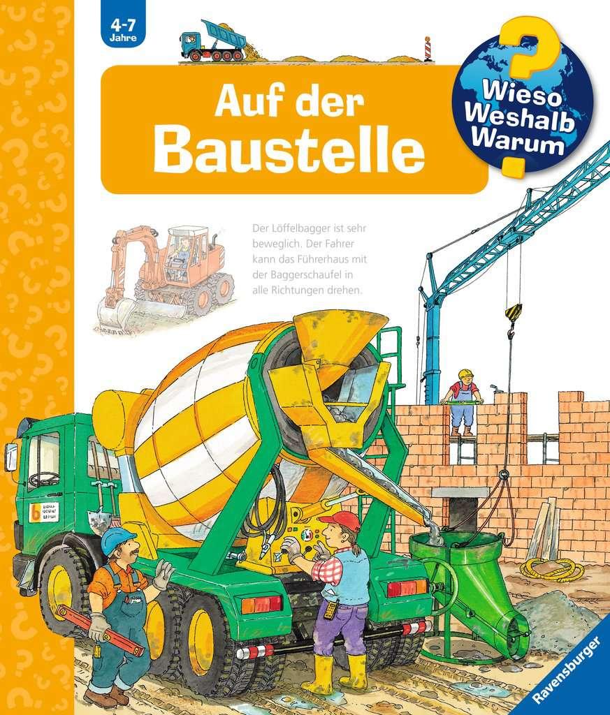 Baustelle zeichnung  Auf der Baustelle | Wieso? Weshalb? Warum? | Bücher | Produkte ...