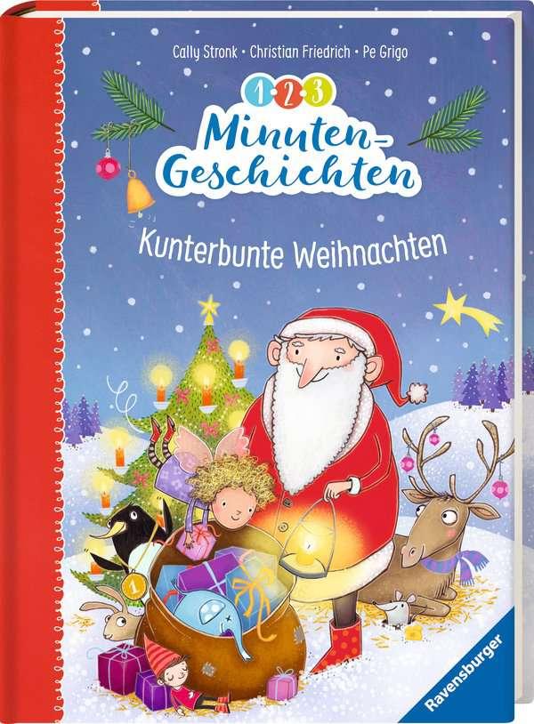 1-2-3 Minutengeschichten: Kunterbunte Weihnachten | Bilderbücher und ...