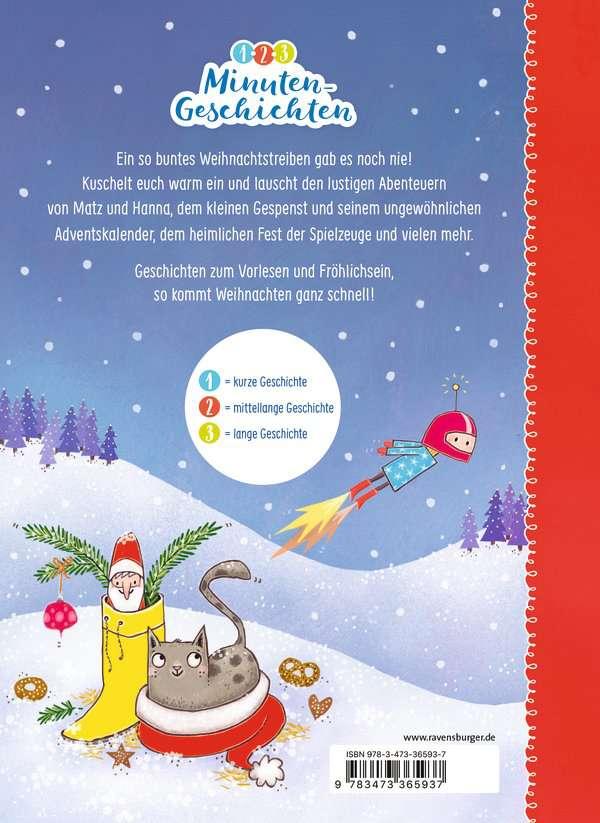 1 Weihnachten.1 2 3 Minutengeschichten Kunterbunte Weihnachten Bilderbücher Und