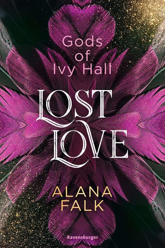 Bücherblog. Neuerscheinungen. Buchcover. Gods of Ivy Hall - Lost Love (Band 2) von Alana Falk. Fantasy. Jugendbuch. Ravensburger.