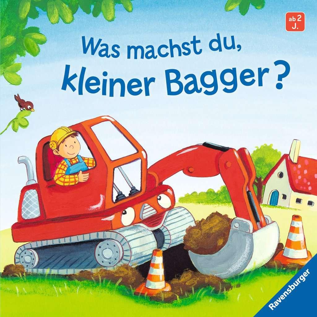 Pappbilderbuch Hallo ab 18 Monaten Baggerfahrer Peter! 7 Seiten