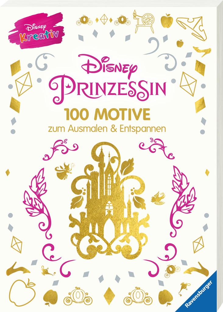 Disney kreativ: Disney Prinzessin - 100 Motive zum Ausmalen und ...