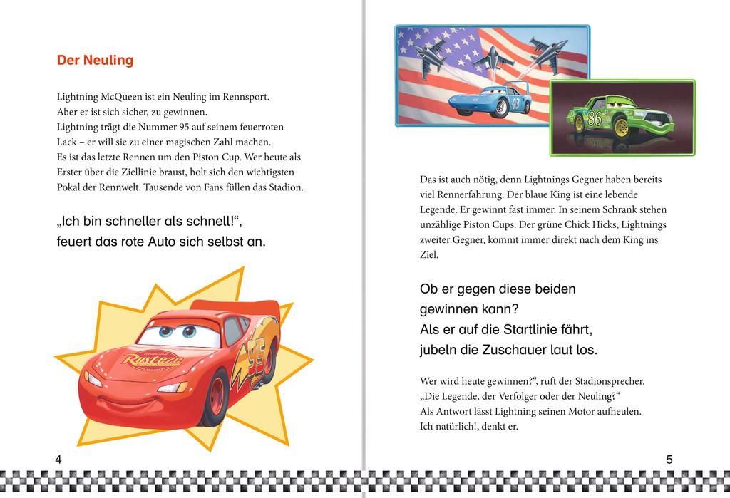 Leselernstars Wir lesen gemeinsam Geschichten: Disney Cars Ein ...