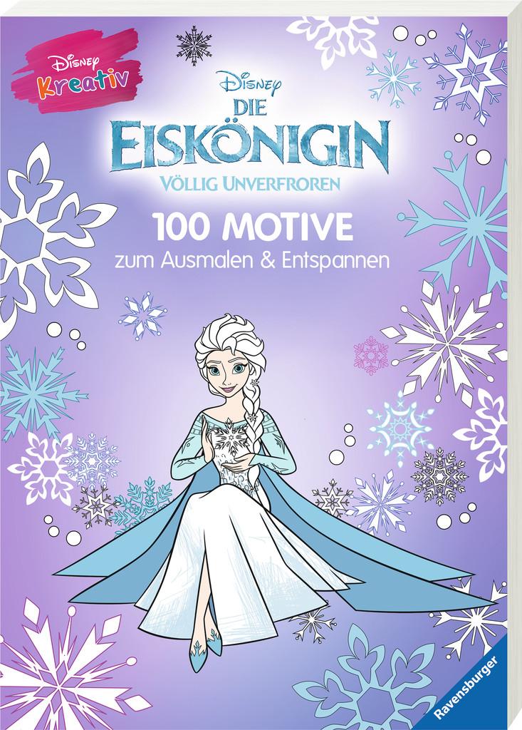Disney kreativ: Die Eiskönigin - 100 Motive zum Ausmalen und ...