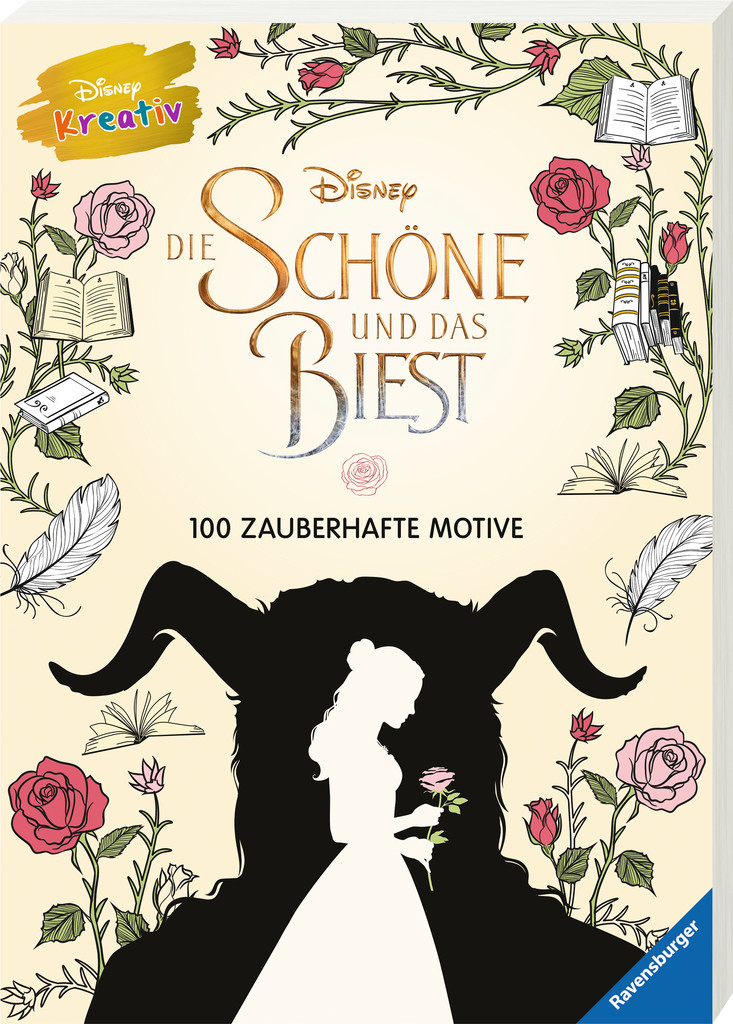 Disney kreativ: Die Schöne und das Biest – 100 zauberhafte Motive ...