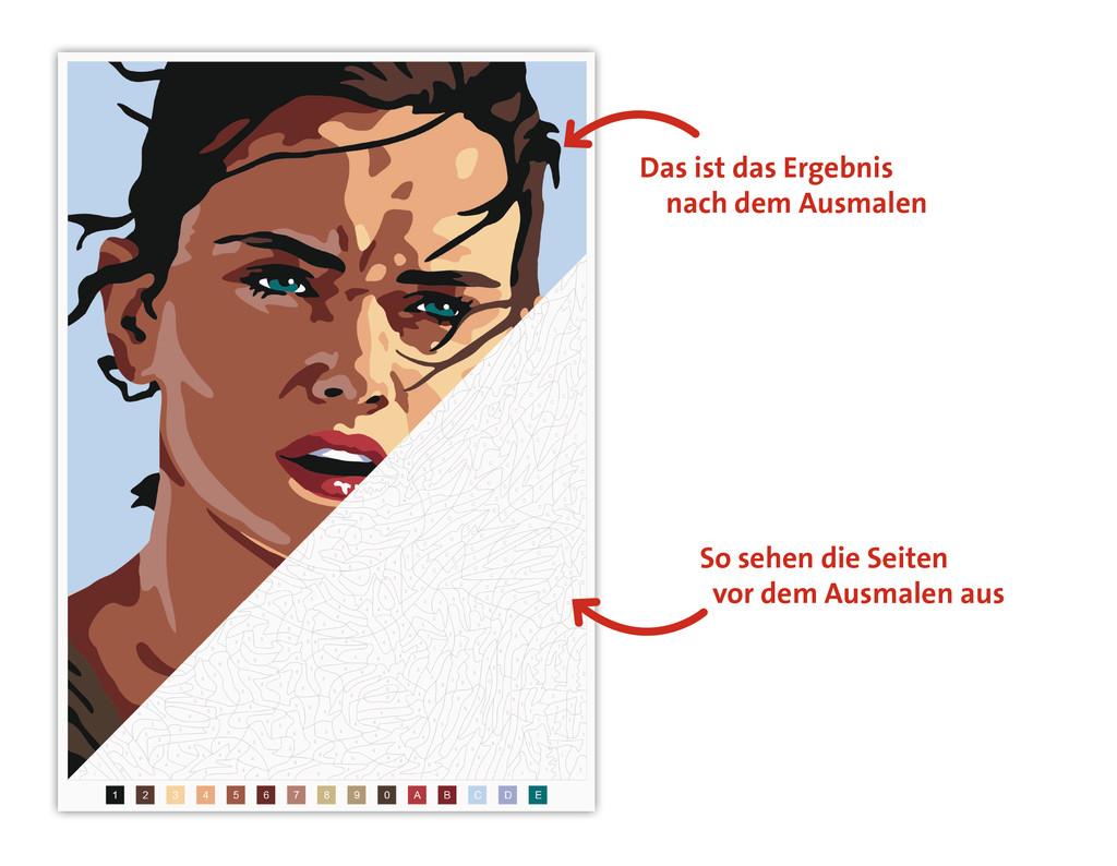 Disney Kreativ Star Wars Malen Nach Zahlen Malbücher Und