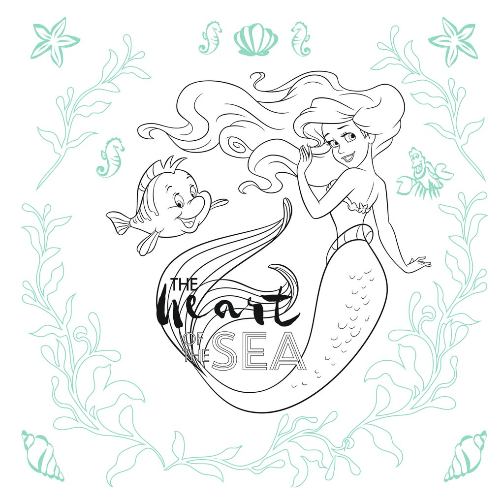 Disney kreativ: Disney Prinzessin - Zauberhafte Motive zum Ausmalen ...