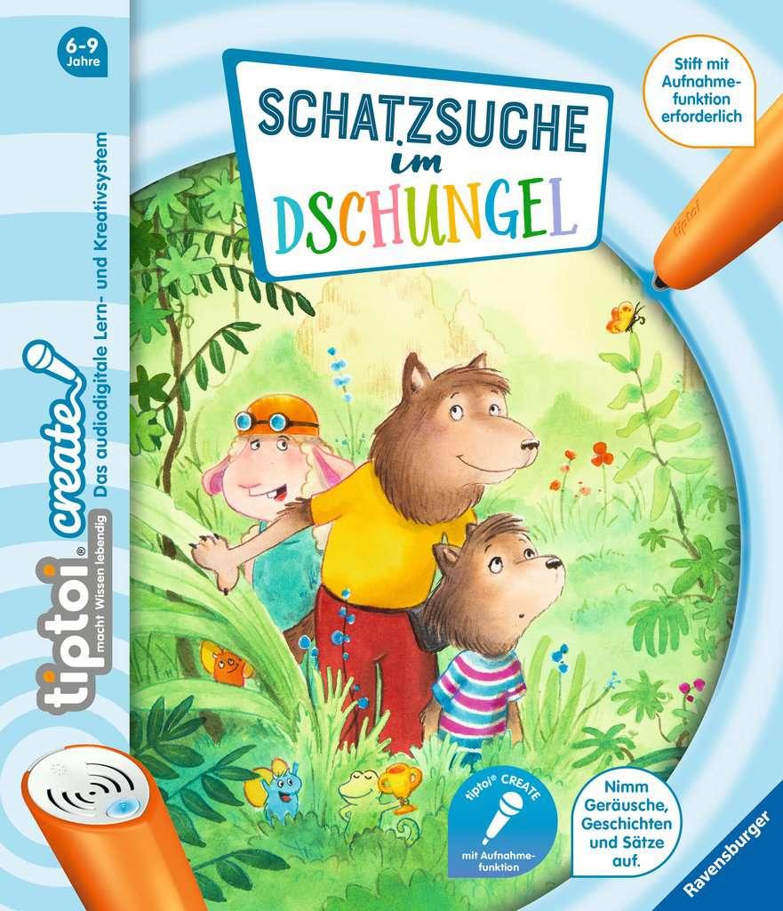Tiptoi Create Schatzsuche Im Dschungel Tiptoi Kinderbucher