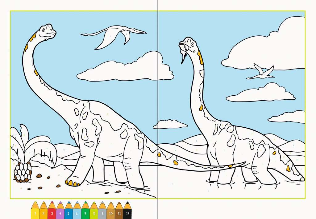 Malen Nach Zahlen Dinosaurier Produkte F 252 R Kinder
