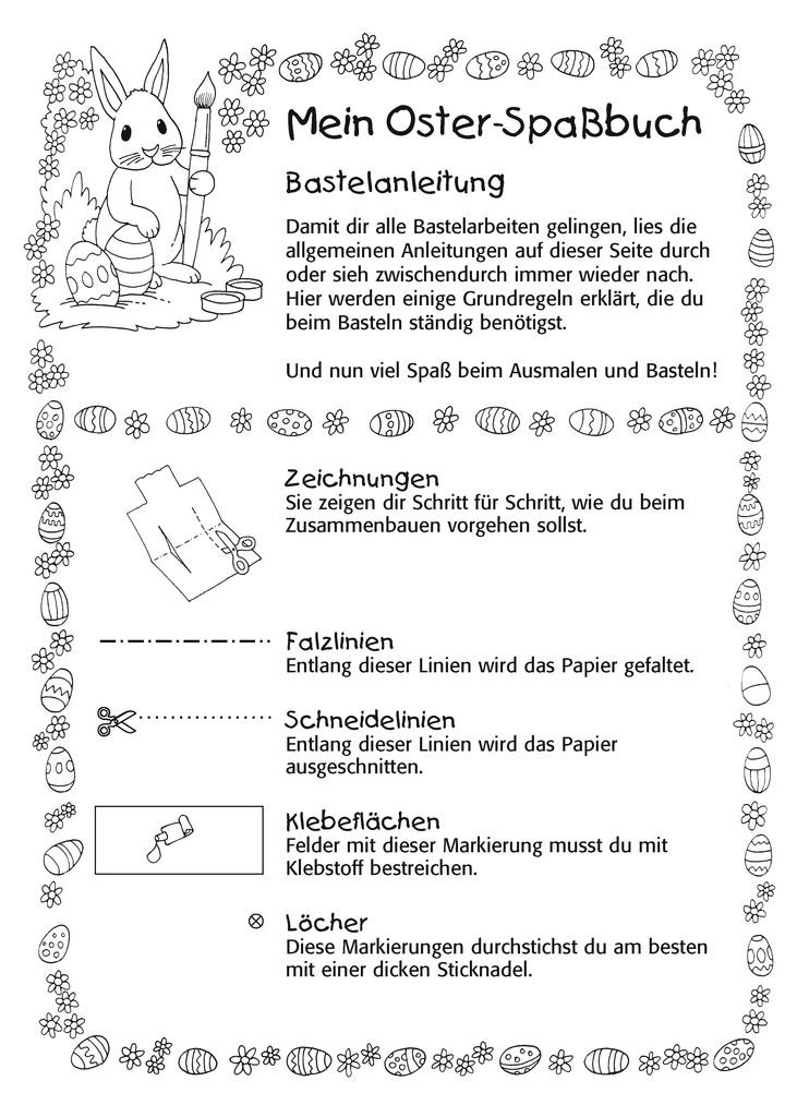 Malen  Rtseln  Basteln Ostern  Mal und Bastelbcher  Bcher