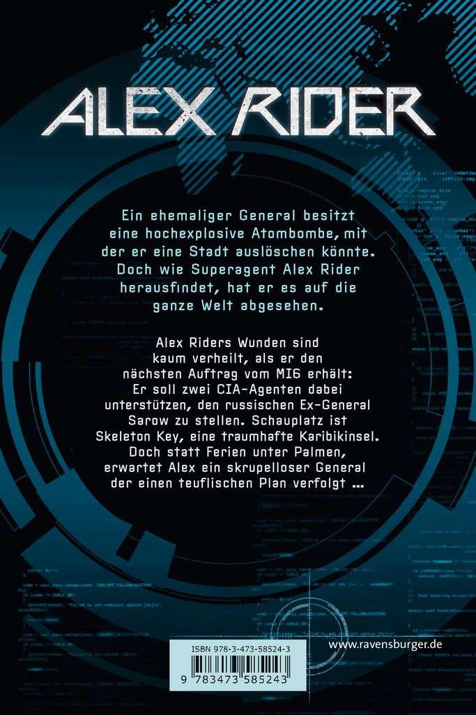 Alex Rider Band 3 Skeleton Key Abenteuerbucher Jugendbucher