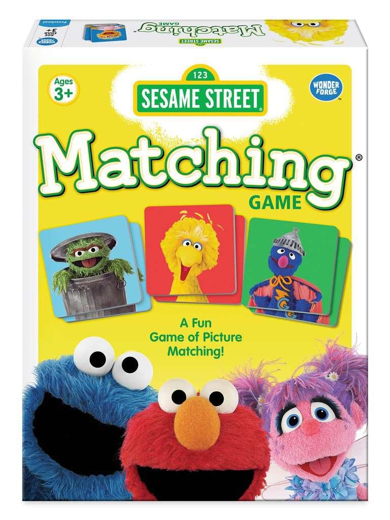 Sesame Street® Matching Game | Children's Games | Games ...
