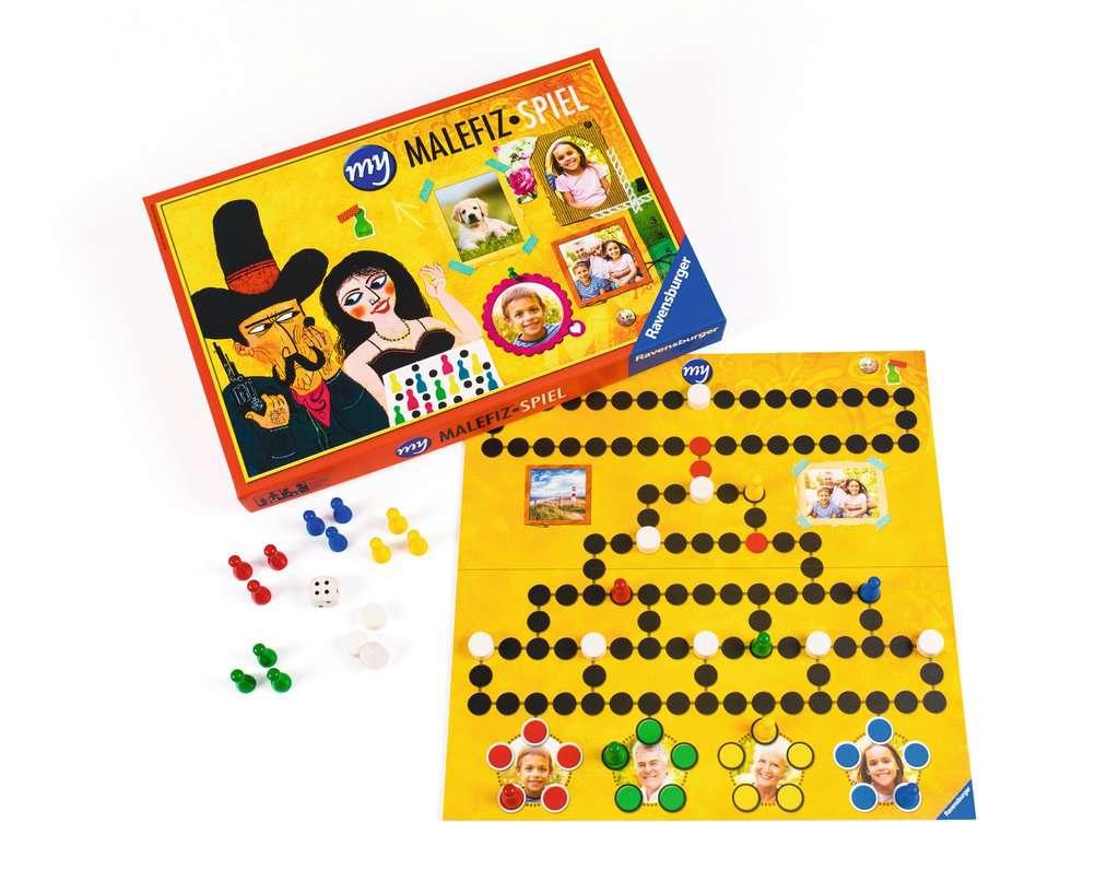 Malefiz Brettspiel