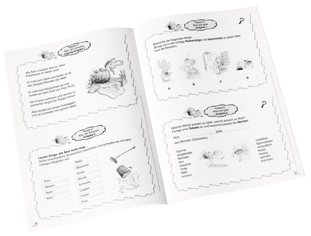 Materialien zur Unterrichtspraxis - Ursel Scheffler: Ätze, das ...