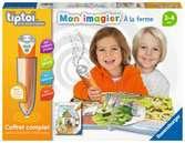 tiptoi® - Coffret complet lecteur interactif + Livre Imagier A la ferme tiptoi®;Lecteur et coffrets complets tiptoi® - Ravensburger