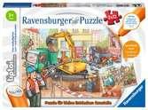tiptoi® Puzzle für kleine Entdecker: Baustelle tiptoi®;tiptoi® Puzzle - Ravensburger