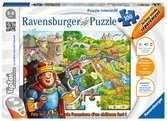 Le château fort tiptoi®;Puzzles tiptoi® - Ravensburger