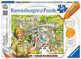 Puzzel, ontdek en beleef: De dierentuin tiptoi®;tiptoi® puzzels - Ravensburger
