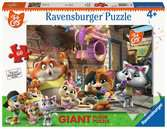 44 Gatti - Puzzle 60 pezzi giant Puzzle;Puzzle per Bambini - Ravensburger
