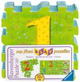 My first play puzzles - La ferme éducative Premier âge;Puzzles - Ravensburger