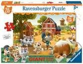 44 Gatti A Ravensburger Puzzle  24 giant Pavimento Puzzle;Puzzle per Bambini - Ravensburger