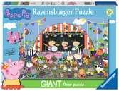 Ravensburger Peppa Pig Family Celebrations, 24pc Giant Floor Jigsaw Puzzle Puzzles;Children s Puzzles - Ravensburger