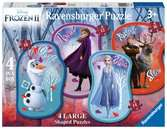 Frozen 2, Four Large Shaped Puzzles Puzzles;Children s Puzzles - Ravensburger