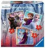 Disney Ledové království 2 3 v 1, 25/36/49 dílků 2D Puzzle;Dětské puzzle - Ravensburger