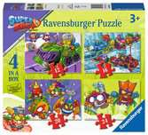 Super Zings Puzzle 4 in a Box Puzzle;Puzzle per Bambini - Ravensburger