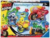 Ricky Zoom Puzzle Shaped 4 in a Box Puzzle;Puzzle per Bambini - Ravensburger