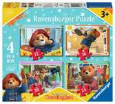 Paddington Bear 4 in a Box Puzzles;Children s Puzzles - Ravensburger