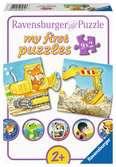 Ravensburger puzzel Dieren in de bouw - My First puzzles - 9x2 stukjes - kinderpuzzel Puzzels;Puzzels voor kinderen - Ravensburger