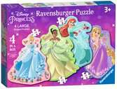 Disney Princess, Four Large Shaped Puzzles Puzzles;Children s Puzzles - Ravensburger