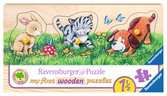 Cute baby animals         3p Puslespil;Puslespil for børn - Ravensburger