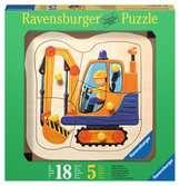 Gelber Bagger Baby und Kleinkind;Puzzles - Ravensburger