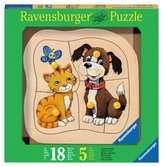 Hund und Katze Baby und Kleinkind;Puzzles - Ravensburger