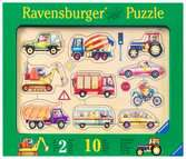 Puzzle bois 10 pièces - Dans la rue Premier âge;Puzzles - Ravensburger