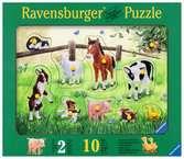 Puzzle bois 10 pièces - Petits animaux familiers Premier âge;Puzzles - Ravensburger
