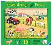 Kunterbunter Bauernhof Baby und Kleinkind;Puzzles - Ravensburger