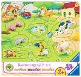 Pequeña granja Puzzles;Puzzle Infantiles - Ravensburger