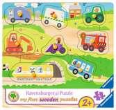 Favourite vehicles        8p Puslespil;Puslespil for børn - Ravensburger