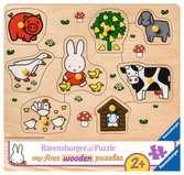 nijntje op de boerderij Puzzels;Puzzels voor kinderen - Ravensburger