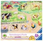 Une journée à la ferme Puzzle;Puzzles enfants - Ravensburger