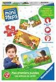 Mes premiers puzzles : Les animaux du jardin Premier âge;Jeux - Ravensburger
