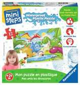 Mon puzzle en plastique : Mes amis les dinosaures Premier âge;Puzzles - Ravensburger