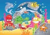 Mon puzzle en plastique : Mes amis sous l eau Premier âge;Puzzles - Ravensburger