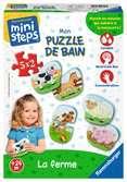 Mon puzzle de bain : La ferme Premier âge;Puzzles - Ravensburger