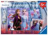 Frozen 2, 3x49pc Puzzles;Children s Puzzles - Ravensburger