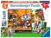 Welcome to the 44 Cats! Puslespil;Puslespil for børn - Ravensburger